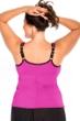 Miraclesuit Fuchsia Plus Size Kimkini Underwire Tankini Top