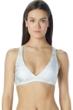 Carmen Marc Valvo Deluxe Strappy Back Triangle Bikini Top
