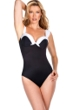 Miraclesuit White D-Cup Cinderella Underwire One Piece Swimsuit