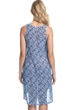 Profile by Gottex Pinwheel Blue High Low Mesh Cover Up Dress