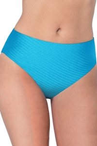 Profile by Gottex Ribbons Azure Textured Seamless Tankini Bottom