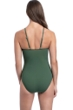 Profile by Gottex Maharani Forest Green High Neck Key Hole One Piece Swimsuit