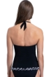 Profile by Gottex On the Dot Black Halter Tankini Top