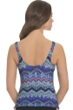 Profile by Gottex Skyline D-Cup Underwire V-Neck Tankini Top