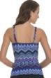 Profile by Gottex Skyline E-Cup Shirred Underwire Tankini Top