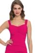Profile by Gottex Raspberry Tutti Frutti E-Cup Shirred Underwire Tankini Top