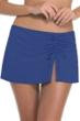 Profile by Gottex Blueberry Tutti Frutti Cinch Skirt Swim Bottom