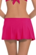 Profile by Gottex Raspberry Tutti Frutti Cinch Skirt Swim Bottom