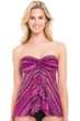 Profile by Gottex Indian Sunset Bandeau Tankini Top
