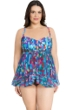 Profile by Gottex Serendipity Plus Size Flyaway Bandeau One Piece Swimsuit