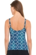 Profile by Gottex Collage D-Cup V-Neck Tankini Top