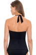 Profile by Gottex Hollywood Black Halter Tankini Top