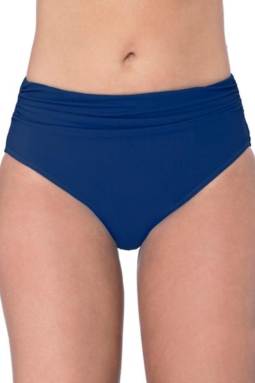 Profile by Gottex Petrol Blue Shirred Tankini Bottom