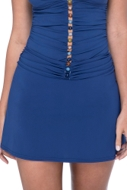 Profile by Gottex Petrol Blue Cover Up Skirt