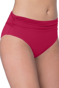 Profile by Gottex Moto Ruby Shirred Tankini Bottom