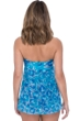 Profile by Gottex Birds of a Feather Flyaway Bandeau One Piece Swimsuit