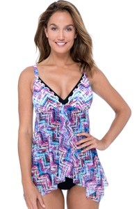 Profile by Gottex Fantasia Flyaway One Piece Swimsuit