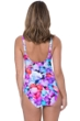 Profile by Gottex Pocket Full of Posies V-Neck Cross Over Surplice One Piece Swimsuit