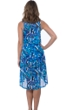 Profile by Gottex Tidal Wave High Low Mesh Beach Dress Cover Up