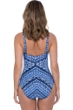 Profile by Gottex Folklore D-Cup Scoop Neck Underwire One Piece Swimsuit