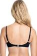 Profile by Gottex Tutti Frutti Black D-Cup Push Up Underwire Bikini Top