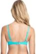 Profile by Gottex Tutti Frutti Light Jade D-Cup Tie Front Push Up Underwire Bikini Top