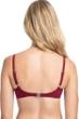 Profile by Gottex Tutti Frutti Merlot F-Cup Push Up Underwire Bikini Top