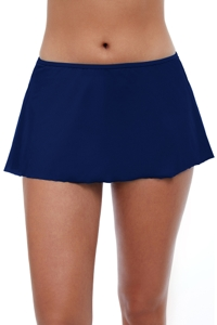 Profile by Gottex Tutti Frutti Navy Swim Skirt