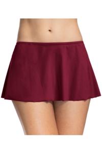 Profile by Gottex Tutti Frutti Merlot Swim Skirt