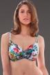 Fantasie Wakaya D-Cup Gathered Full Cup Underwire Bikini Top