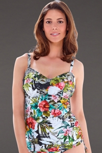 Fantasie Wakaya I-Cup Twist Front Underwire Side Adjustable Tankini Top