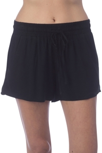 Green Dragon Black Drawstring Beach Short