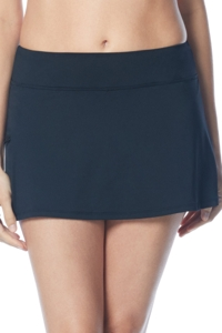 Beach House Black Emma Swim Skort