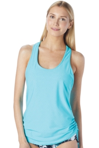 BH Sport Standout Tropical Mesh 2-in-1 Tank Top with Sports Bra