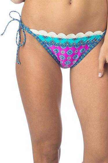 Hobie Mix It Up Crochet String Side Tie Bikini Bottom