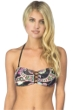 Hobie Part Of Your Swirl Bandeau/Halter Bikini Top