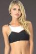 Hobie Keep The Piece High Neck Bikini Top