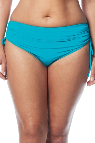 Beach House Pool Plus Size Hayden Adjustable Side Tie Brief