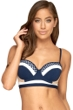 Jets by Jessika Allen Deluxe D Cup Underwire Bikini Top