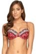Jets by Jessika Allen Arabian Spice D Cup Underwire Bikini Top