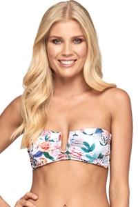 JETS Australia Gypsy Underwire Bandeau Bikini Top