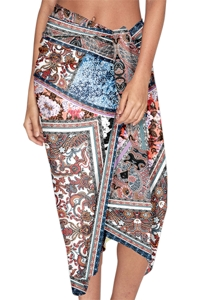 JETS Australia Poetic Aerial Sarong One Size