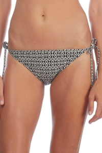 Kenneth Cole Reversible Indigo Tribal Beat Side Tie Bikini Bottom