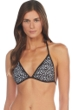 Kenneth Cole A Laser Cut Above Triangle Bikini Top