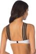 Kenneth Cole New York Stompin Stilettos Sporty High Neck Bikini Top