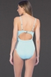 Kenneth Cole New York Hall of Fame Aqua Mesh Push Up One Piece Swimsuit