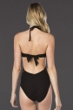 Kenneth Cole New York Hall of Fame Black Push Up One Piece Swimsuit