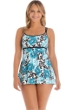 Longitude Jennie Rose Empire Princess Seam Swimdress