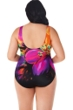 Longitude Fiesta Plus Size Scoop Back Tank One Piece Swimsuit