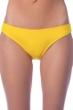 La Blanca Solid Yellow Hipster Bikini Bottom